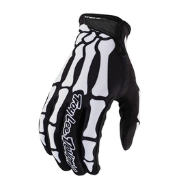 TROY LEE DESIGNS GLOVES TLD '21 YOUTH AIR SKULLY BLACK/WHITE