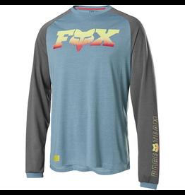 FOX JERSEY FOX '20 RANGER FOXHEAD X LS LIGHT BLUE