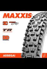"""MAXXIS TYRE MAXXIS ASSEGAI 29 X 2.50"""" WT TR 3C MAXX GRIP DD FOLD 60X2TPI"""