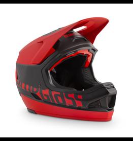 BLUEGRASS HELMET BLUEGRASS LEGIT CARBON MTB/BMX W/MIPS MATT BLACK/RED