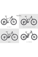 ALL MOUNTAIN STYLE ALL MOUNTAIN STYLE (AMS) FRAME PROTECTION XXXL CLEAR / SILVER