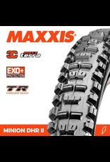 """MAXXIS TYRE MAXXIS MINION DHR II 27.5 X 2.40"""" TR EXO+ 3C MAXX TERRA FOLD 120TPI"""