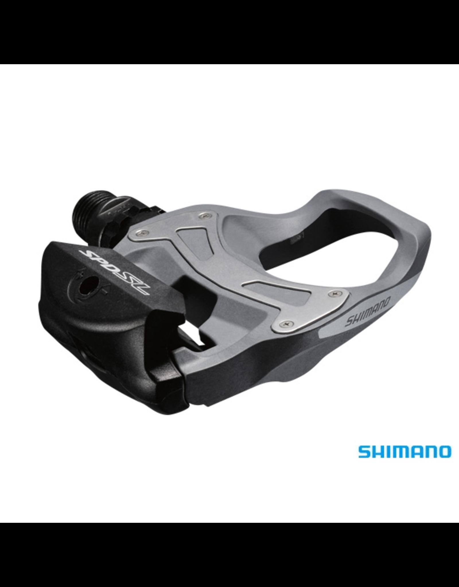 Shimano PEDALS SHIMANO PD-R550 SPD-SL GREY