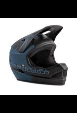 BLUEGRASS HELMET BLUEGRASS LEGIT MTB/BMX PETROL BLUE/BLACK TEXTURE