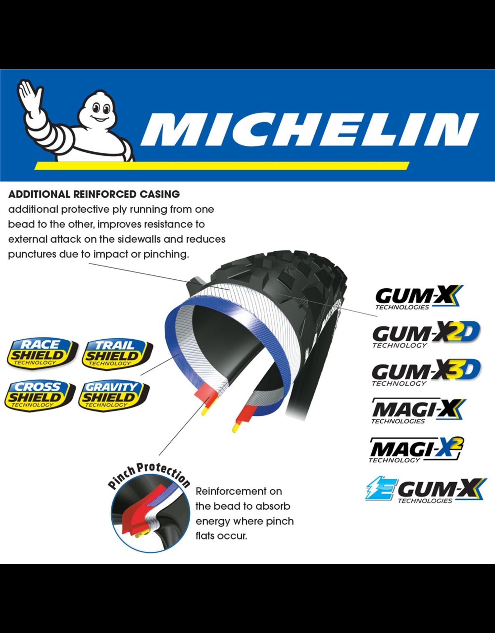 "MICHELIN TYRE MICHELIN ROCK R2 ENDURO COMPETITION GUM-X 29x2.35"" FOLD"