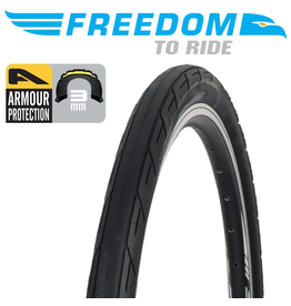"FREEDOM FREEDOM ROADRUNNER 26x1.9"" ARMOUR PROTECTION TYRE"