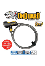 ON GUARD LOCK ON GUARD AKITA STRAIGHT CABLE LOCK 1850X12MM