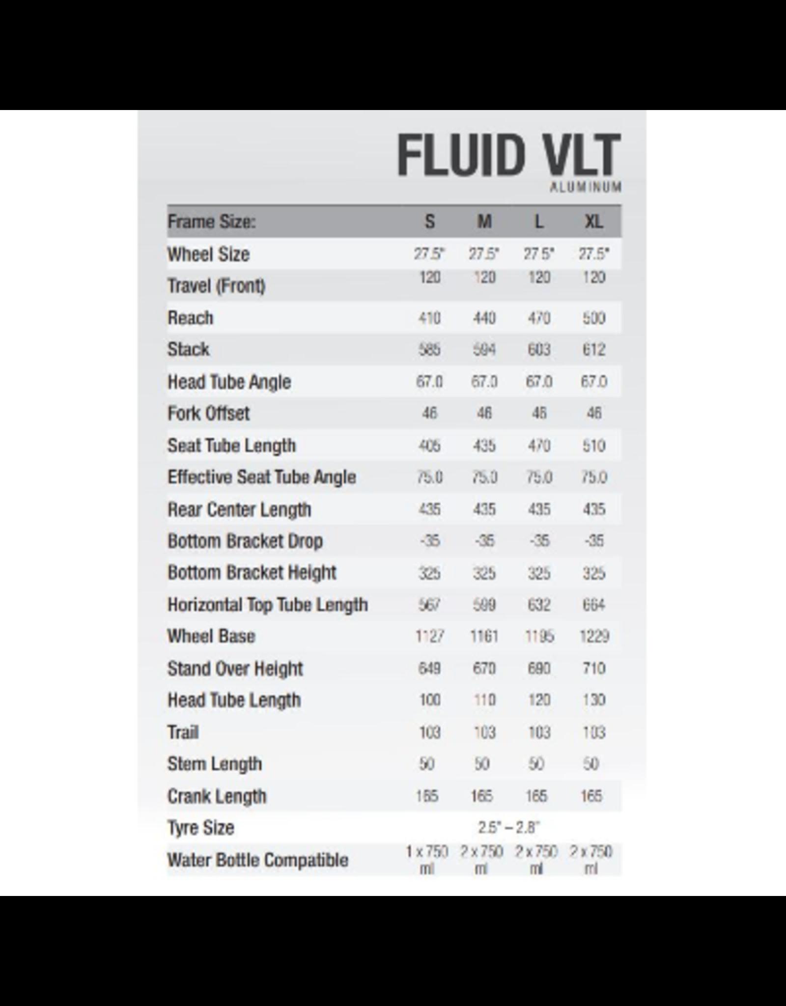 NORCO NORCO FLUID VLT 2 (27) CHARCOAL (E-BIKE)