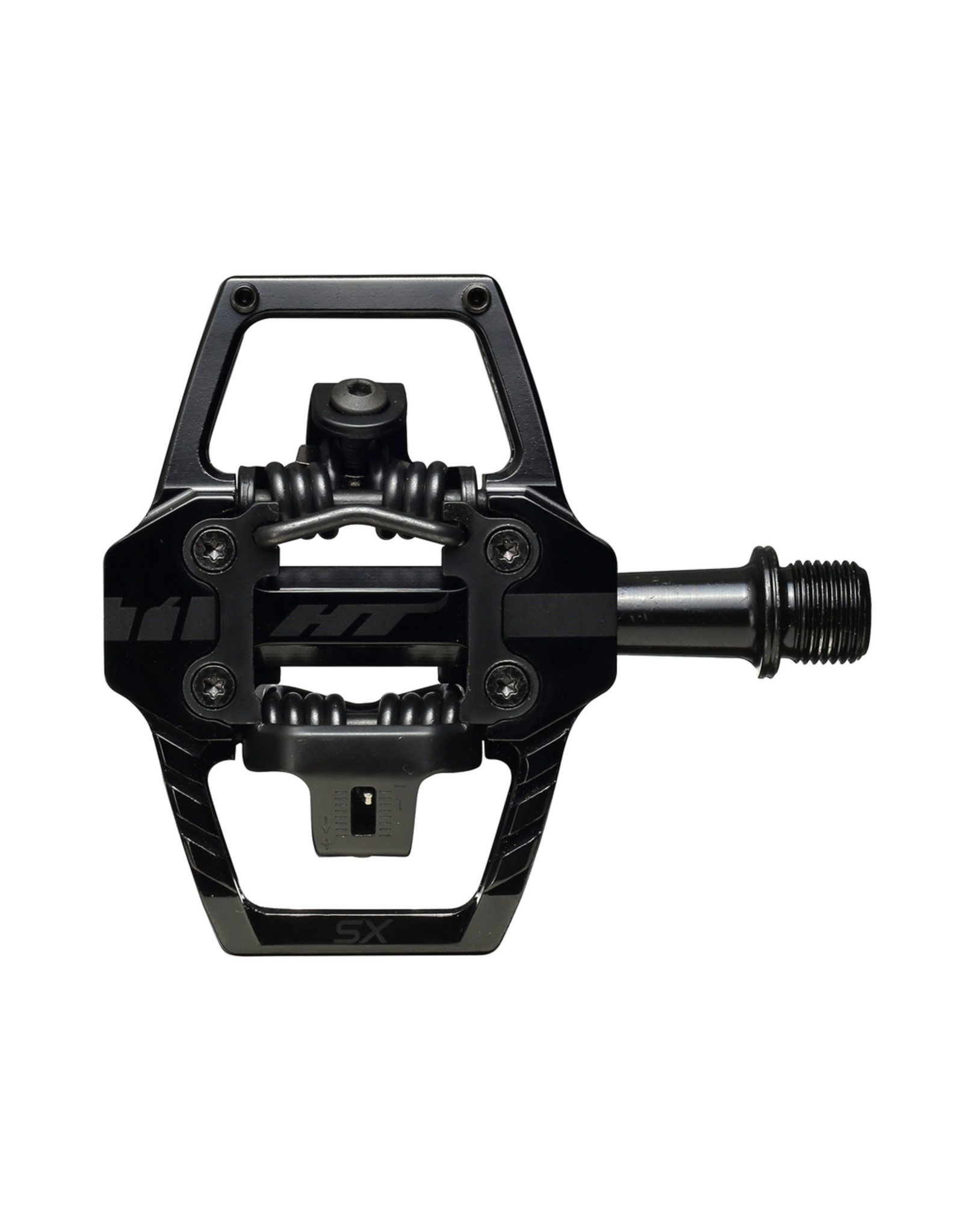 HT PEDALS PEDALS HT COMPONENTS T1 SX CR-MO STEALTH BLACK