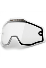 100% 100% RACECRAFT/ACCURI GEN 2 GOGGLES CLEAR VENTED DUAL REPLACEMENT LENS