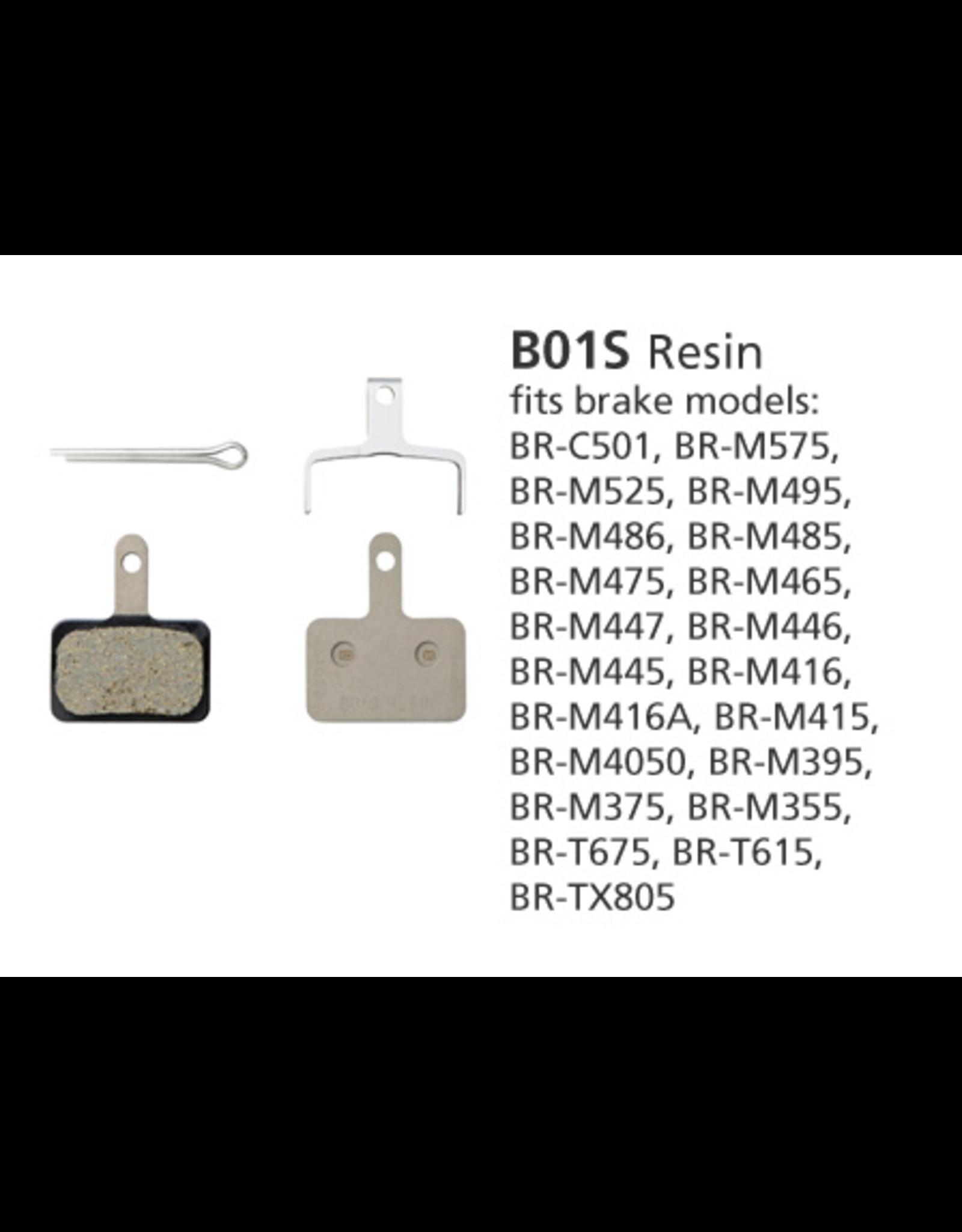 Shimano SHIMANO BR-MT400 B01S RESIN DISC BRAKE PADS