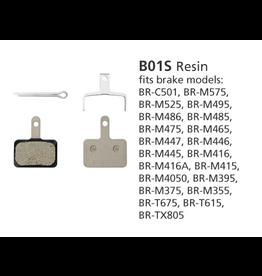 Shimano BRAKE PADS DISC SHIMANO BR-MT400 B01S RESIN
