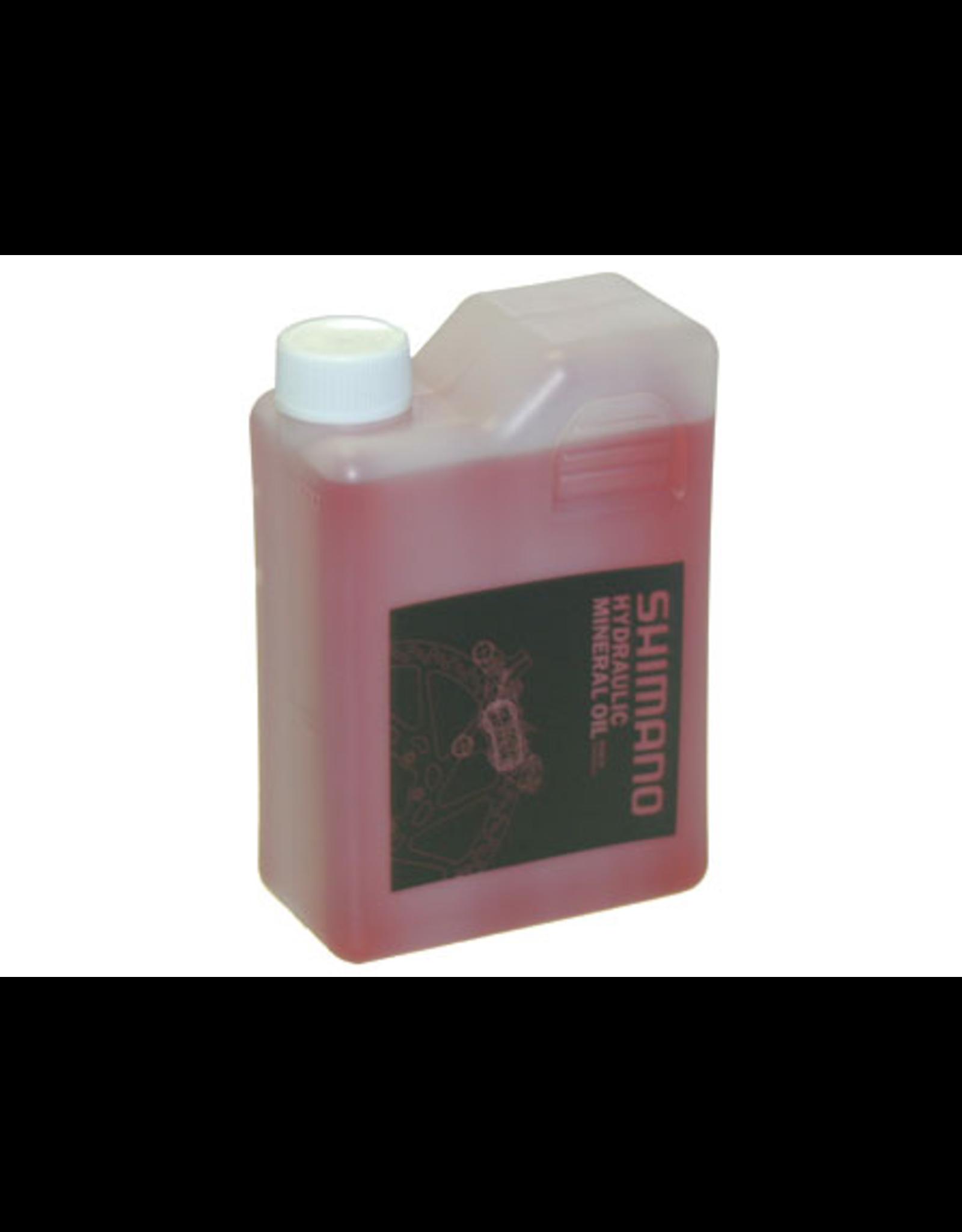 Shimano BRAKE DISC SHIMANO MINERAL OIL 1 LITRE