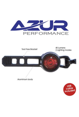AZUR AZUR CYCLOPS TAIL LIGHT USB RECHARGEABLE