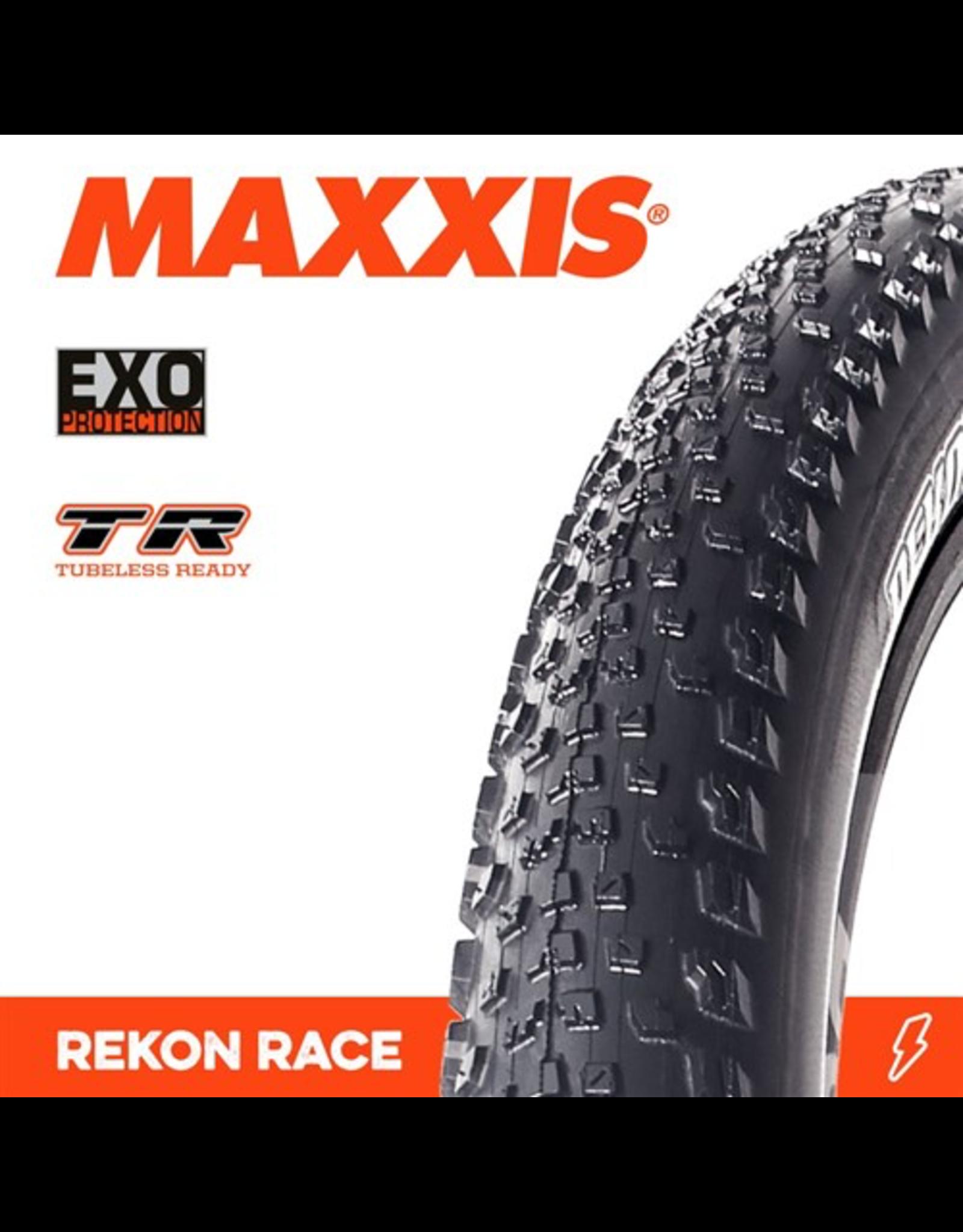 "MAXXIS MAXXIS REKON RACE 29 X 2.25"" TR EXO FOLD 120 TPI TYRE"