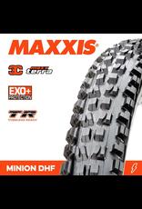 """TYRE MAXXIS MINION DHF 27.5 X 2.50"""" WT TR EXO+ 3C MAXX TERRA FOLD 120TPI"""