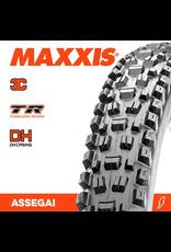"""MAXXIS MAXXIS ASSEGAI 27.5 X 2.50"""" WT TR 3C DH FOLD 60X2TPI TYRE"""