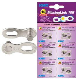 KMC KMC CHAIN LINK MISSING LINK 10 SPEED SILVER