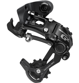 SRAM SRAM DERAILLEUR REAR GX 10 SPEED MEDIUM CAGE BLACK TYPE 2.1 (DOES NOT WORK WITH ANYTHING BIGGER THAN A 36T)