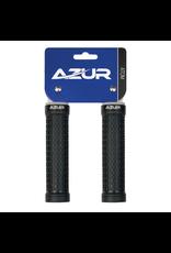 AZUR AZUR ATOM LOCK-ON GRIPS BLACK