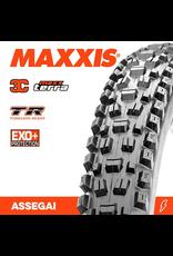 """MAXXIS MAXXIS ASSEGAI 27.5 X 2.50"""" WT TR EXO+ 3C MAXX TERRA FOLD 60TPI TYRE"""