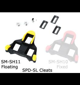 Shimano PEDAL CLEAT SET SHIMANO SM-SH11 SPD-SL YELLOW