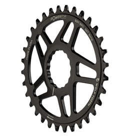 WOLF TOOTH CHAINRING WOLF TOOTH RACEFACE CINCH SHIM 12 SPEED 32T ELIPTICAL BOOST BLACK