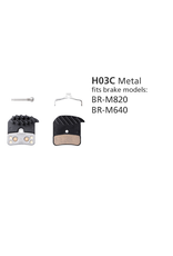 Shimano SHIMANO BR-M820 H03C METAL DISC BRAKE PADS ICE TECH SAINT/ZEE