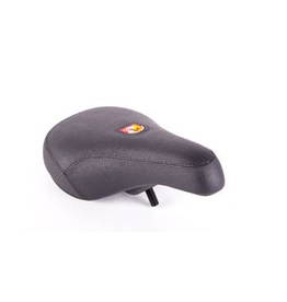 S&M SADDLE S&M FAT PIVOTAL BMX BLACK