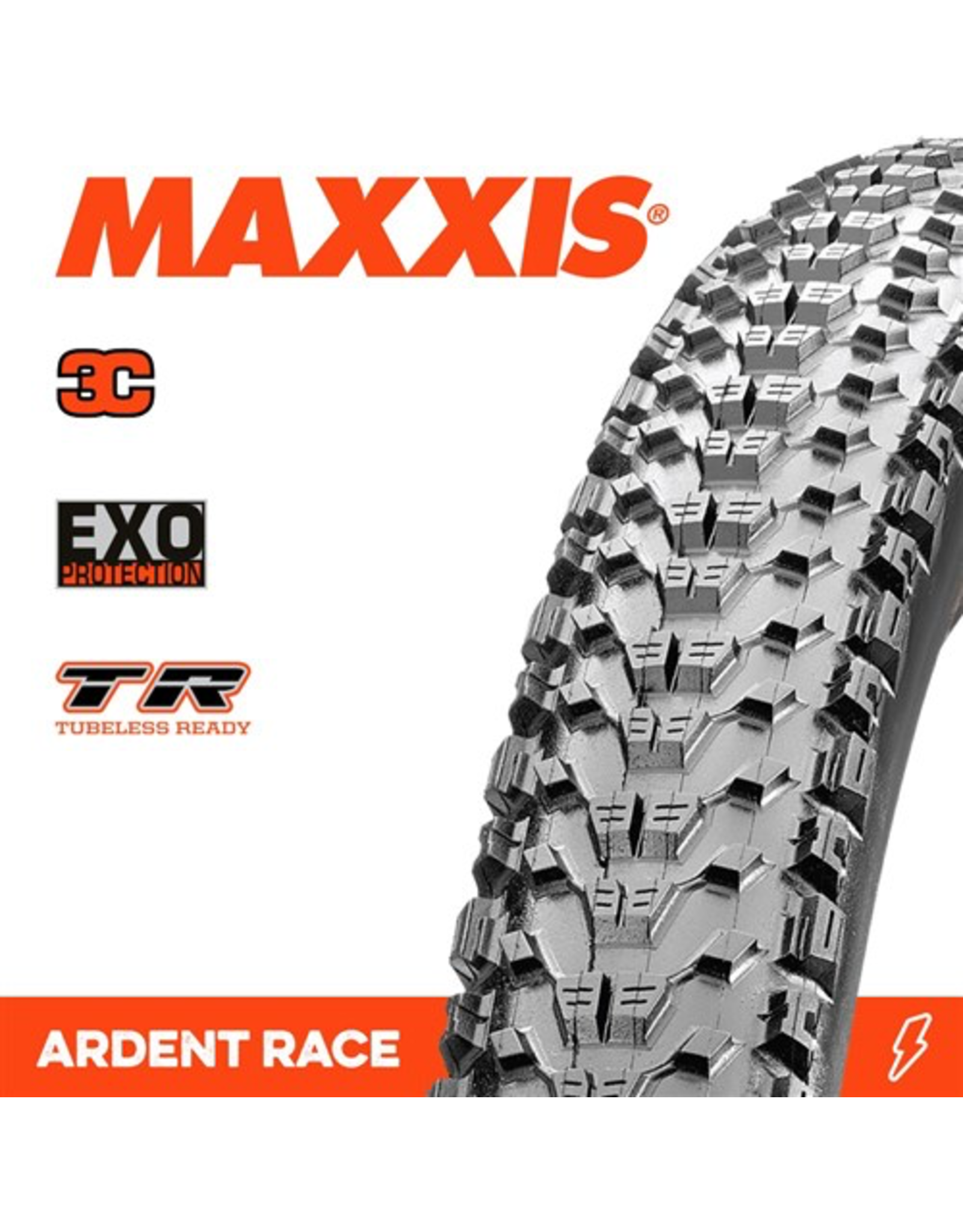 """MAXXIS MAXXIS ARDENT RACE 29 X 2.35"""" TR 3C EXO FOLD 120TPI TYRE"""