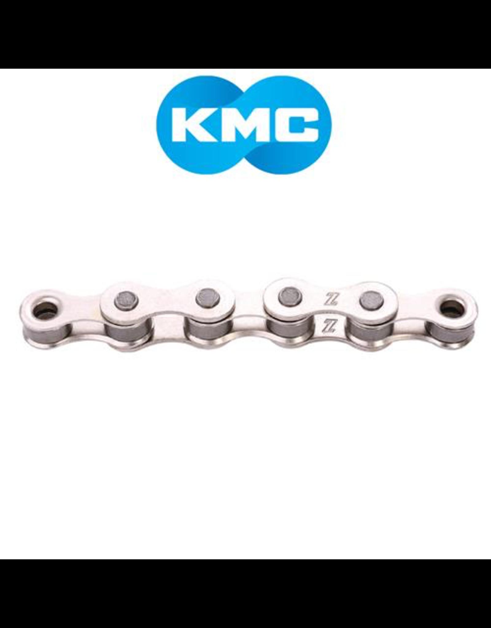 "KMC CHAIN KMC S1 1/2X1/8"" SINGLE SPEED 116 LINKS SILVER"