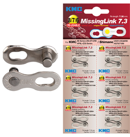 KMC KMC KMC CHAIN LINK MISSING LINK 6/7/8 SPEED SILVER