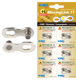 KMC KMC CHAIN MISSING LINK 11 SPEED SILVER