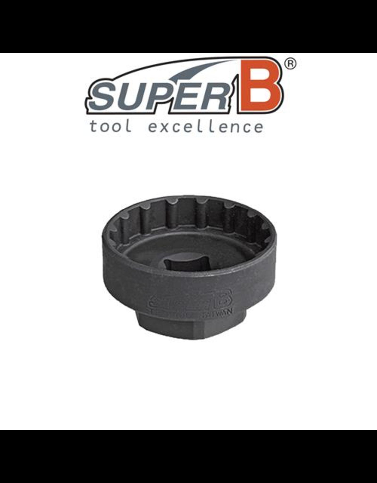 "SUPER-B TOOL SUPER-B CLASSIC BOTTOM BRACKET EXTERNAL TYPE (1/2"" SOCKET)"