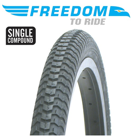 "FREEDOM TYRE FREEDOM MX2 18 x 2.125"" BLACK"