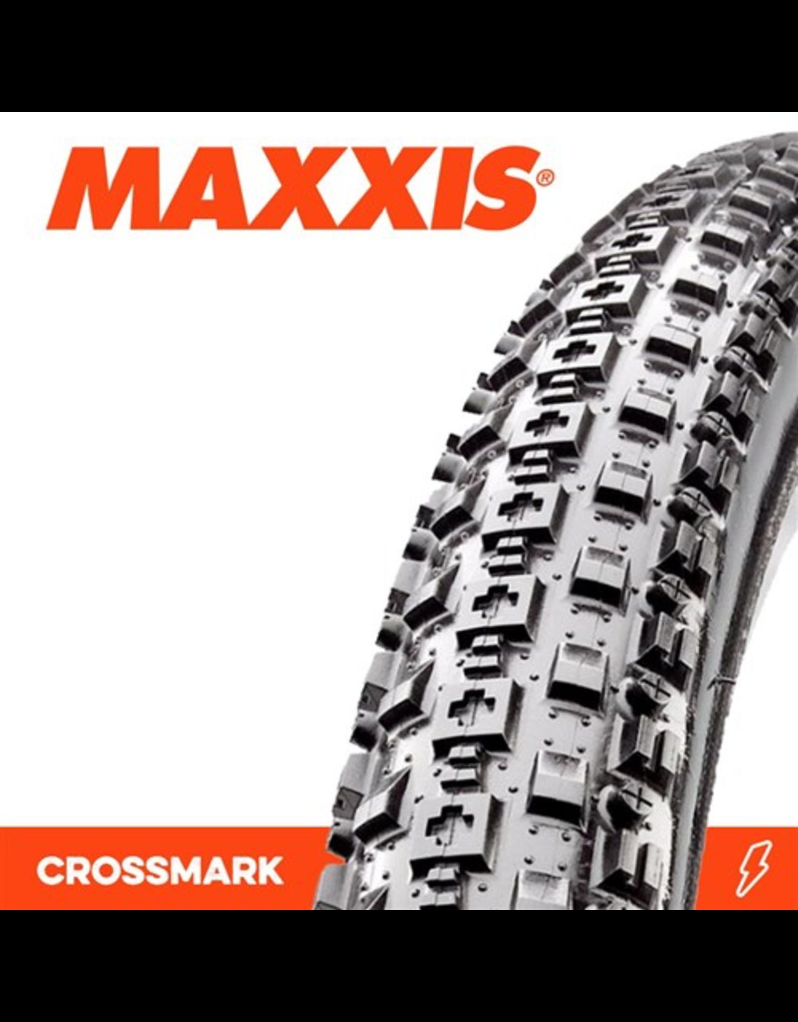 "MAXXIS MAXXIS CROSSMARK 26 X 2.25"" WIRE BEAD 60TPI TYRE"