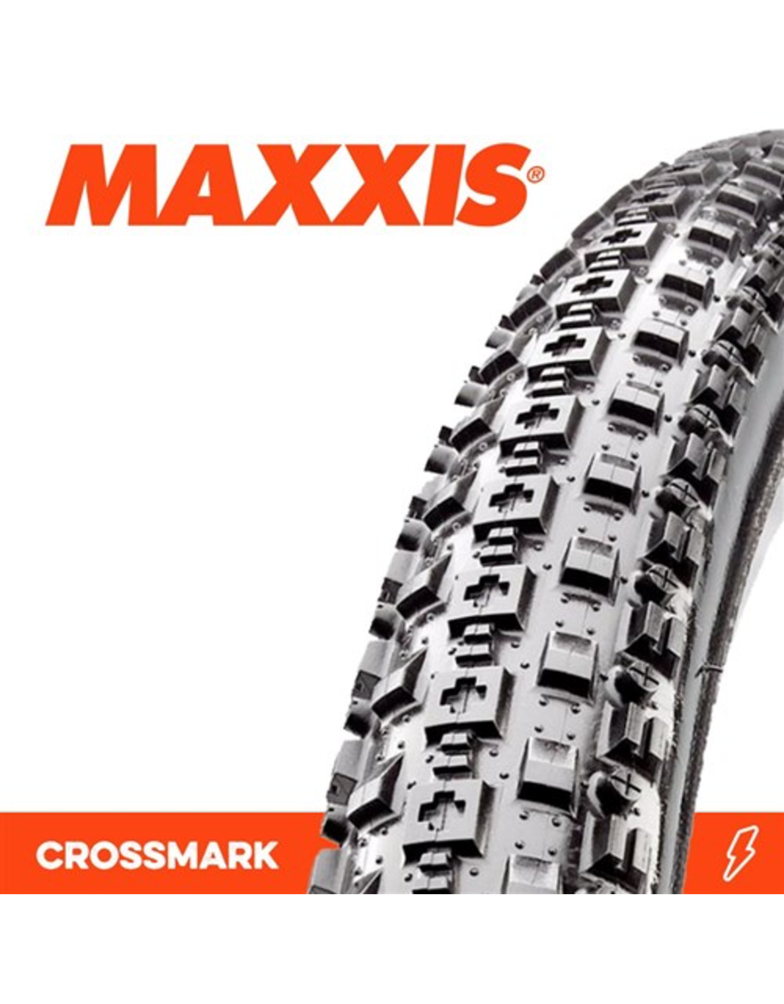 "MAXXIS TYRE MAXXIS CROSSMARK 26 X 2.25"" WIRE BEAD 60TPI"