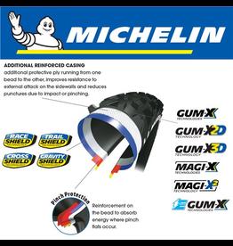 "MICHELIN MICHELIN WILD AM COMPETITION GUM-XD3 27.5x2.80"" TYRE"