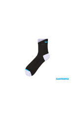 Shimano SOCKS SHIMANO LONG ANKLE BLACK/WHITE SMALL