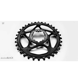 ABSOLUTE BLACK CHAINRING ABSOLUTE BLACK SRAM DM 34T BLACK