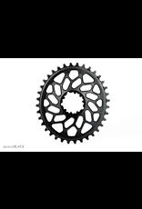 ABSOLUTE BLACK CHAINRING ABSOLUTE BLACK OVAL SRAM DM 36T BLACK (CYCLO-X)