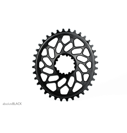 ABSOLUTE BLACK CHAINRING ABSOLUTE BLACK OVAL SRAM DM 36T BLACK (CYCLO-X)