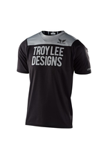 TROY LEE DESIGNS JERSEY TLD '20 SKYLINE SS PINSTRIPE BLOCK BLACK/GREY