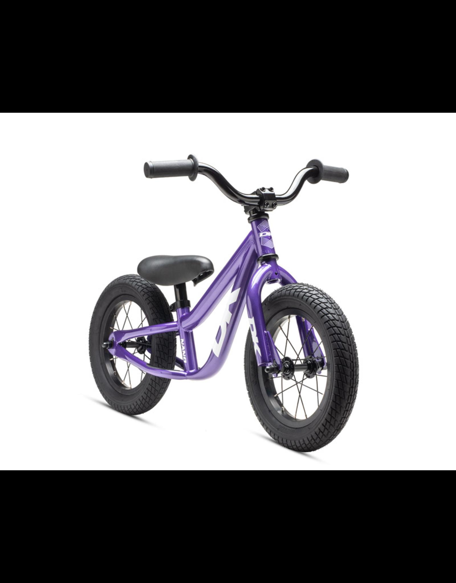 DK BMX DK BICYCLES NANO BALANCE BIKE PURPLE