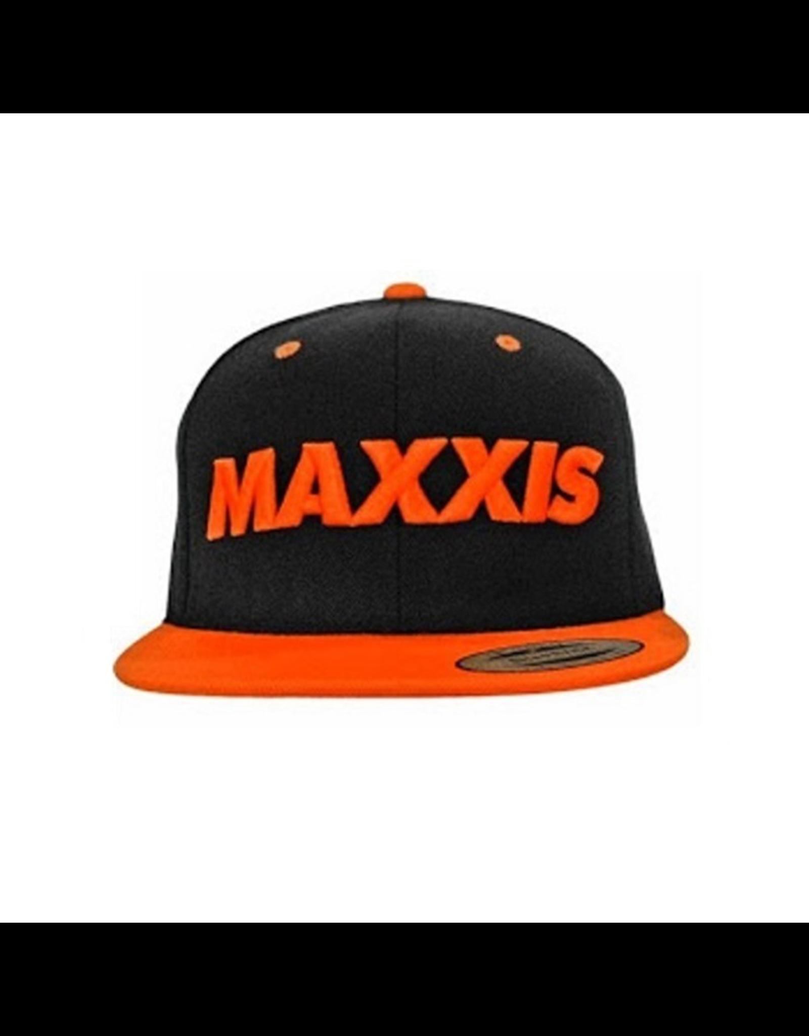 MAXXIS MAXXIS SNAPBACK HAT BLACK/ORANGE