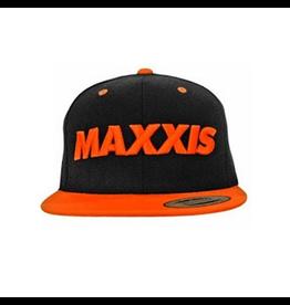 MAXXIS HAT MAXXIS SNAPBACK BLACK/ORANGE