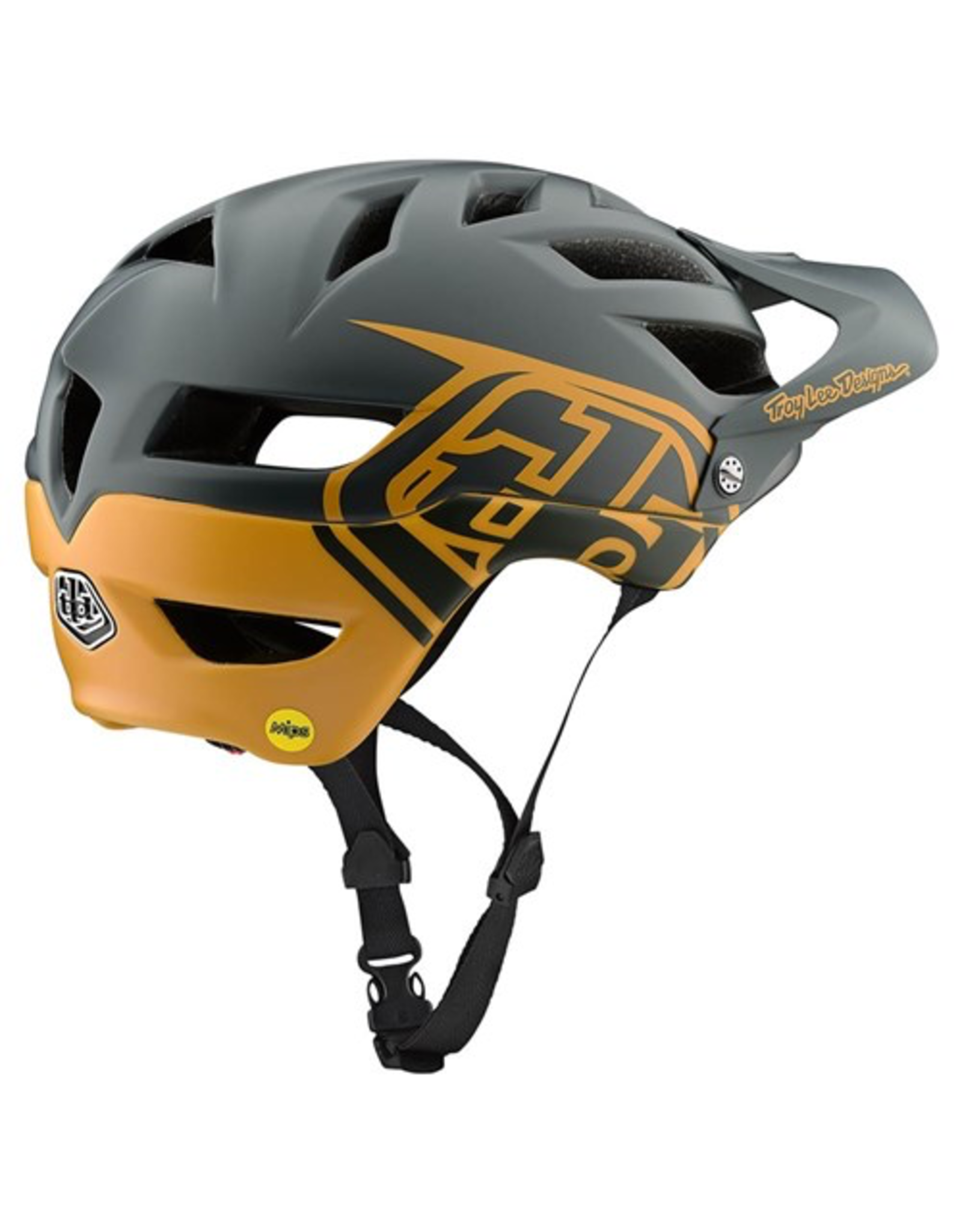 TROY LEE DESIGNS HELMET TLD '20 A1 AS CLASSIC MIPS GREY BOURBON