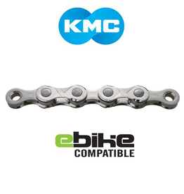 KMC CHAIN KMC E11 11 SPEED 122 LINK SILVER (E-BIKE CHAIN)