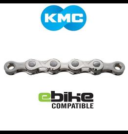KMC KMC CHAIN E11 11 SPEED 122 LINK SILVER (E-BIKE CHAIN)