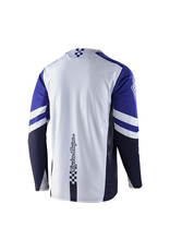 TROY LEE DESIGNS JERSEY TLD '20 SPRINT LS FACTORY ROYAL BLUE/WHITE